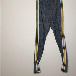 Yellow Stripe Stretch Bottoms🌼